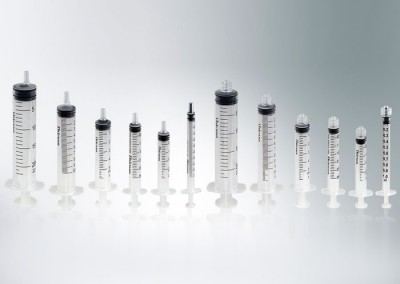 CHIRANA 3-part disposable syringes